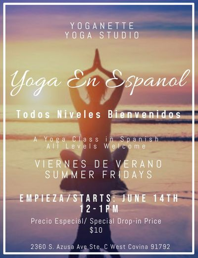 *NEW* Yoga in Spanish