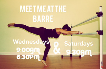 Try out our barre inspired class!
