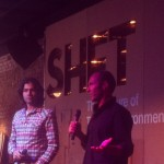 Adrian Grenier and Peter Glatzer at Bourbon Girl - SXSW 2013