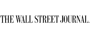 The Wall Street Journal logo for Cultivate PR of Austin