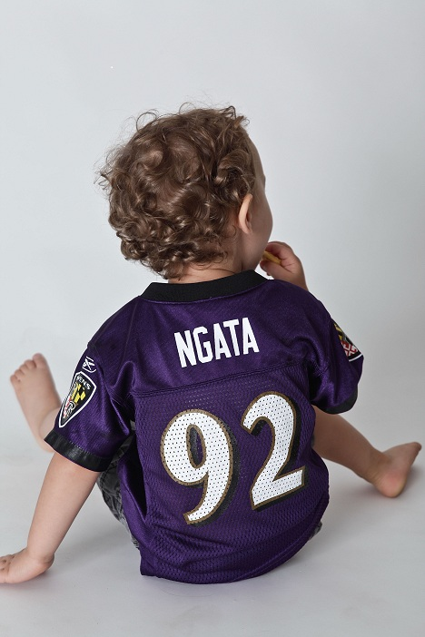 James in Baltimore Ravens jersey (Cultivate PR)