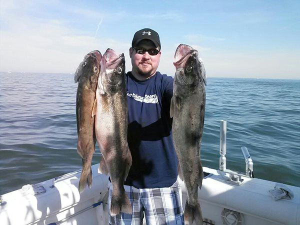 Walleye Fishing Charter