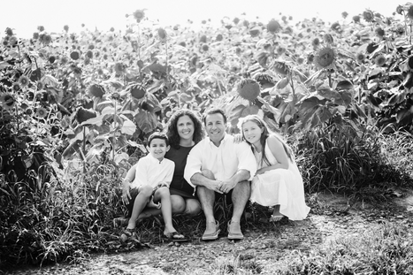 Creative Black and White Family Portraits