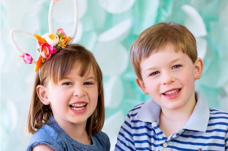 Family Easter Photo Card Ideas