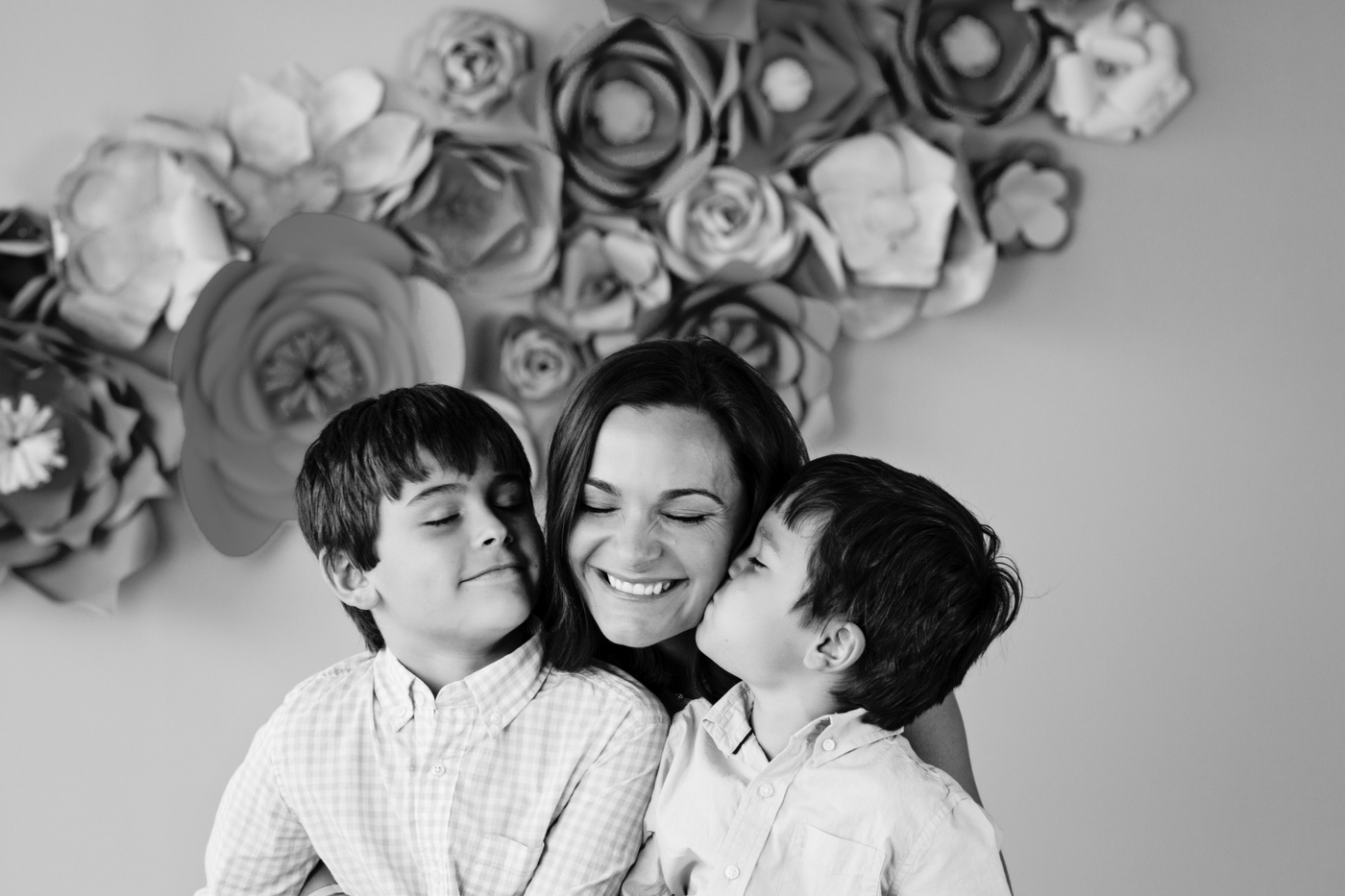 Mother and Sons Photo Idea