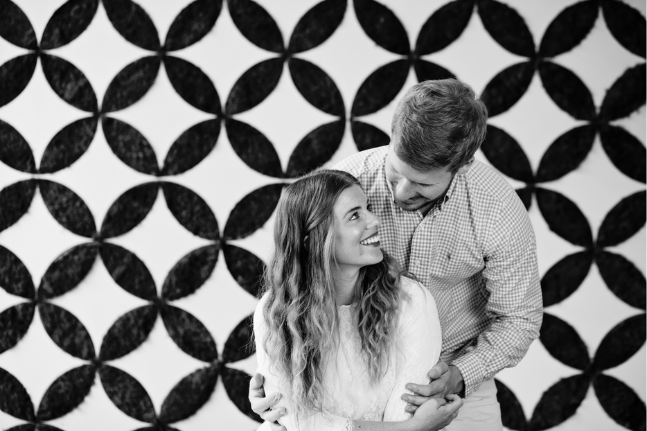 Black and White Couples Photography