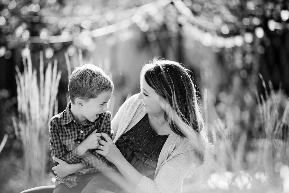 Mother and Son Portrait Ideas