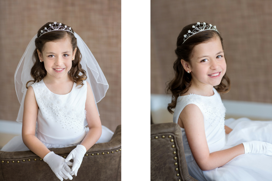 First Communion Photography Poses