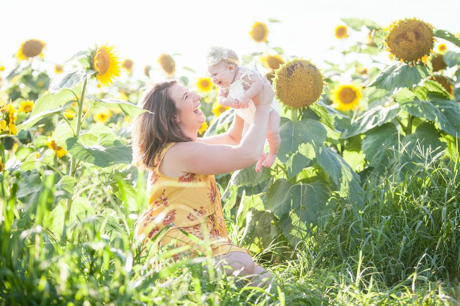 Mother and Newborn Photoshoot