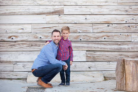 Father and Son Photo Shoot Ideas