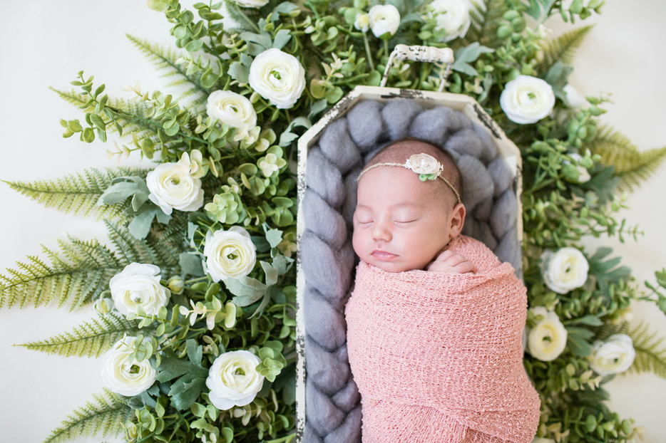 Baby Girl Pictures with Flowers