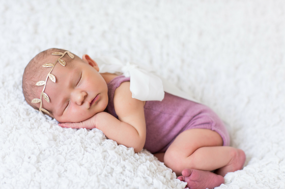 Newborn Photography Ideas Girl
