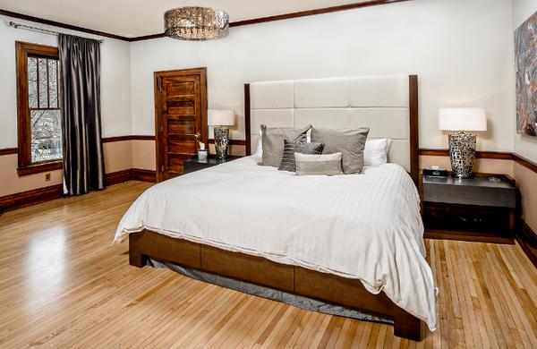 Luxury Hotel Room in CDA Idaho