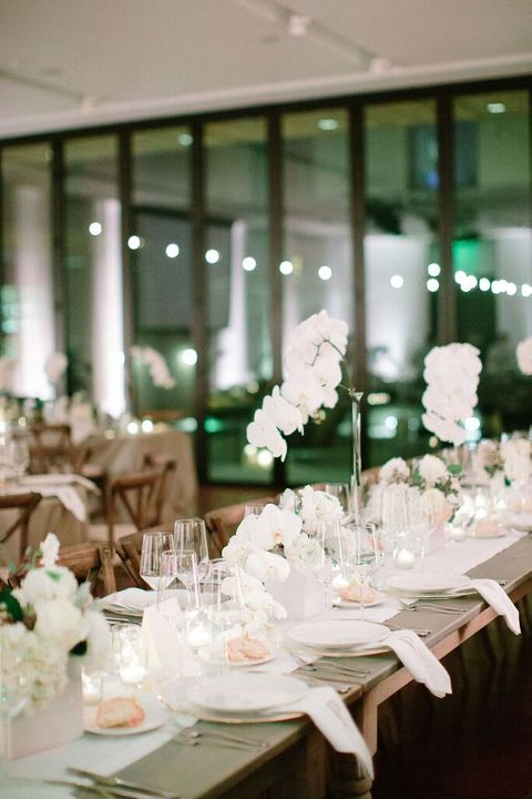 reception dining tables