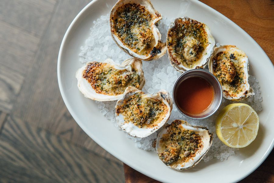 Central Standard oysters