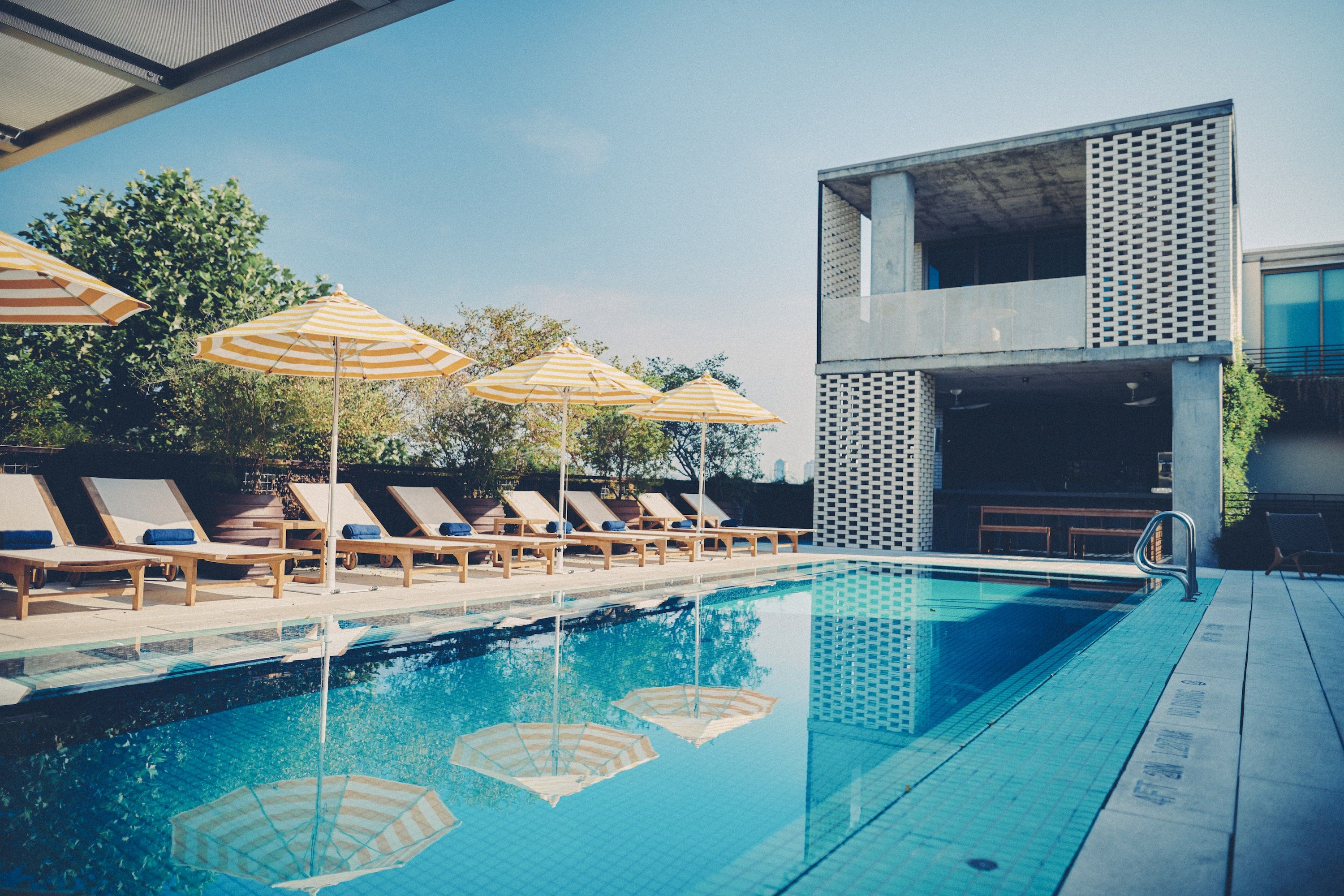 Rooftop pool at South Congress Hotel