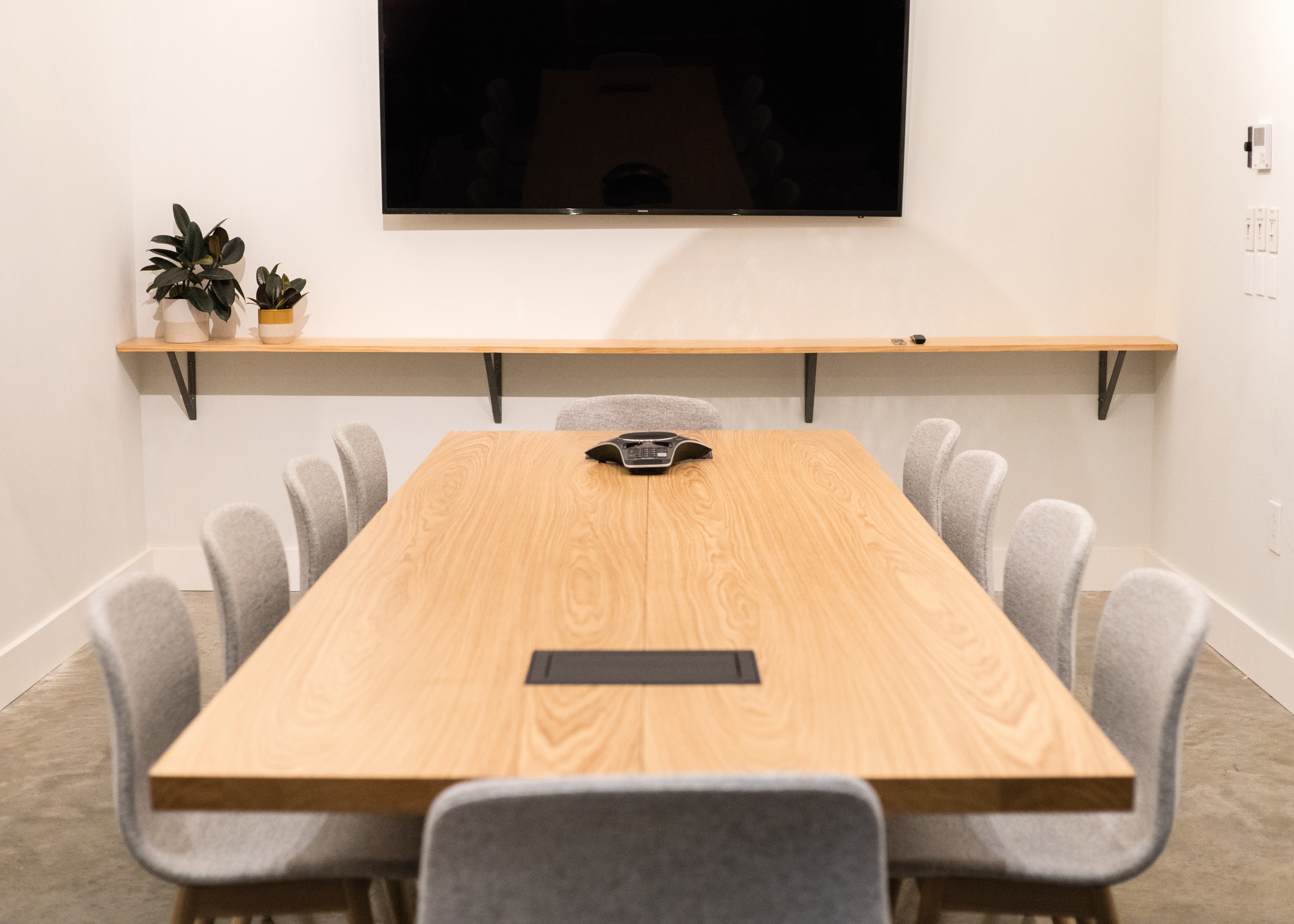 Boardroom Table at South Congress Hotel