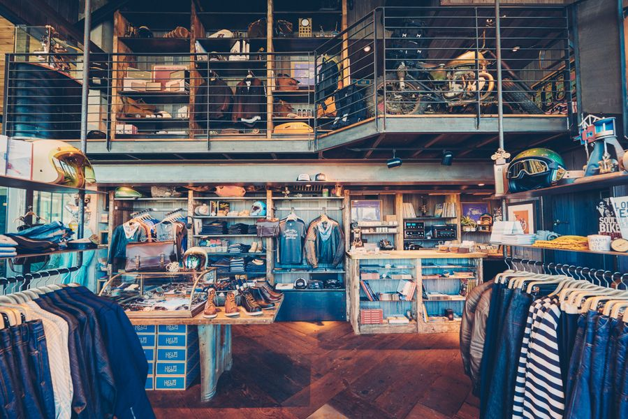 Merchandise at Revival Cycles