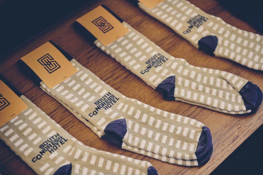 South Congress Hotel lobby shop socks