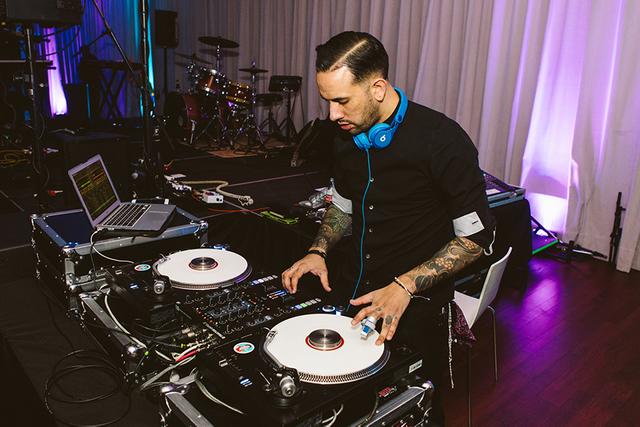 DJ at South Congress Hotel