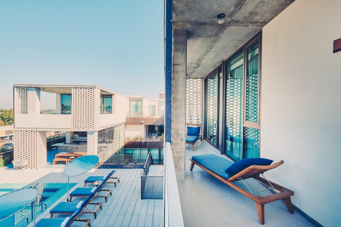 Poolside Premier Suite pool overlook