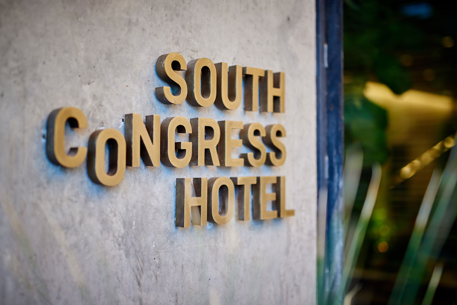 South Congress Hotel sign