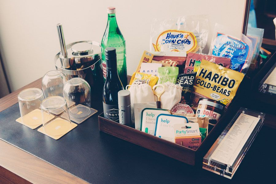 South Congress Hotel room snacks