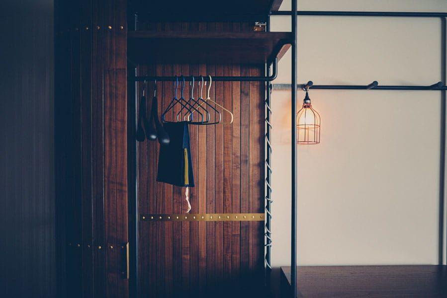 Bouldin room closet