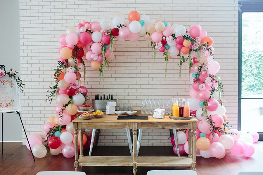 Social event mimosa bar