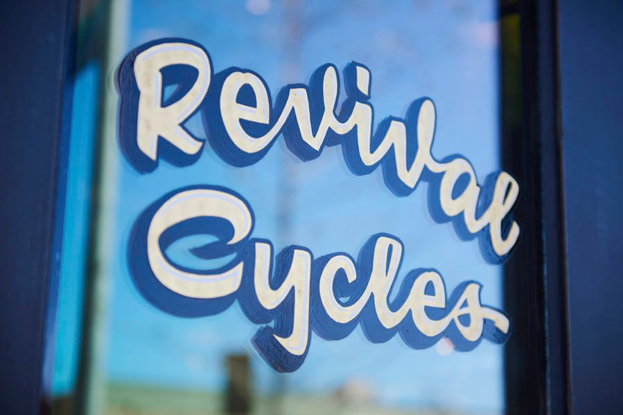 Revival Cycles sign