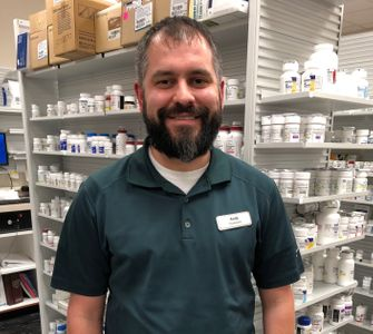 Andy Corn, R.Ph. Pharmacist at Bertram Pharmacy Robinson, IL.JPEG