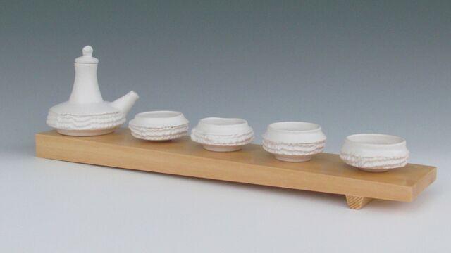 karen-hembree-ewer-and-bowls-on-sushi block-oxidation.jpg