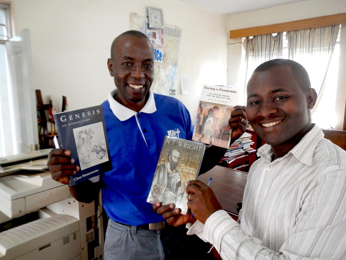 Philip Wandwa%2c Principal and Ivan%2c Librarian%2c KEST.jpg
