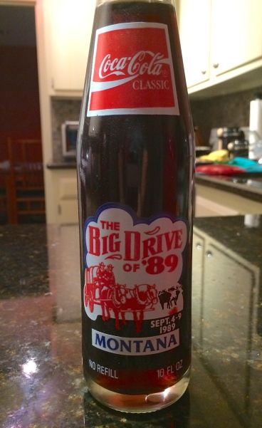 Coke Classic from 1989. Discovered in pantry 2014.