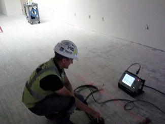 GPRS_Of_Indianapolis_Inspects_Slab_On_Grade_Concrete_For_Conduits_In_Evansville_Indiana.jpg