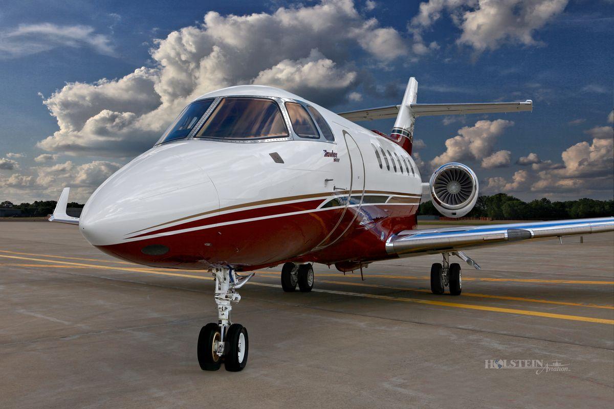 2011 Hawker 900XP - SN HA-175 - N234GF - Ext - LS Front View RGB.jpg