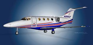 2004 Beech Premier I, RB-116,  N200LB - Ext WEB.jpg