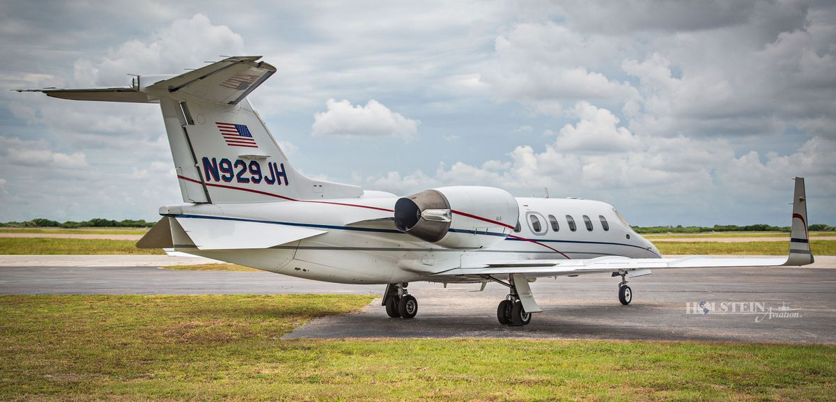 1997 Learjet 31A, SN 132, N929JH - Ext - RS Rear View RGB.jpg
