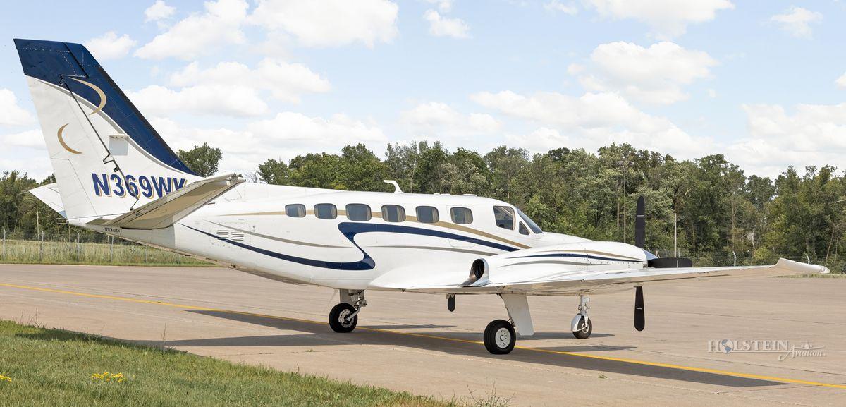 1978 Cessna Conquest II - 441-0012 - N369WK - Ext - RS Rear View-w RGB.jpg