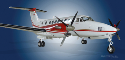 2012 Beech King Air 350i, FL-811,  PK-TUE - Ext RS Front view RGB.jpg