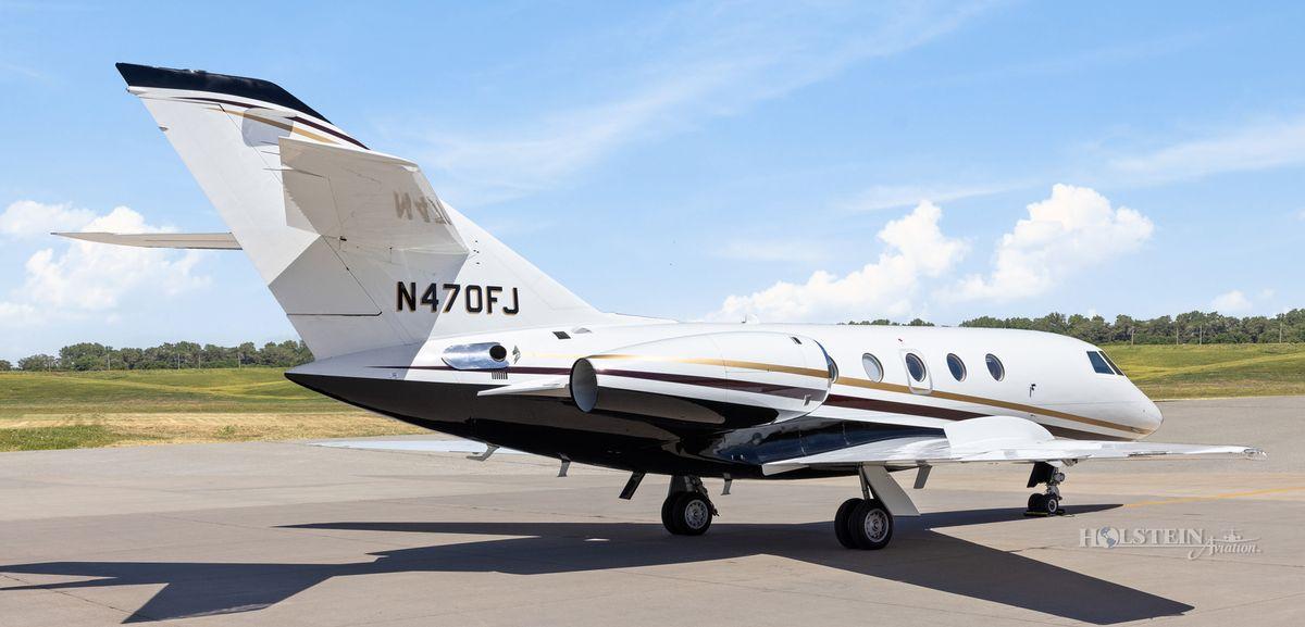 1986 Falcon 20F-5 - 470 - N470FJ - Ext - RS Rear View-w RGB.jpg