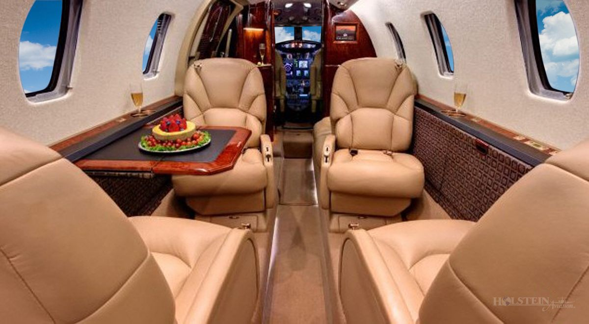 2001 Cessna Citation Excel - SN 560-5214 - N75EB - Int - Aft Fac Fwd - Tbl Ext RGB.jpg