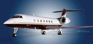 2011 Gulfstream G550, SN 5331, N53M  - Ext LS View WEB.jpg