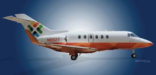 2010 Hawker 900XP, HA-0164, N100ZT  - Ext RS View WEB.jpg