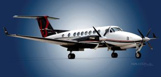 2013 Beech King Air 350i - FL-862 - N576FA - Ext - RS Front View WEB.jpg