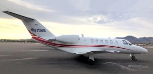 2008 Cessna Citation CJ2+, SN 525-0413, N935BB WEB.jpg