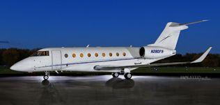 2017 Gulfstream G280 - SN 2107 - N280FR - Ext - LS View WEB.jpg