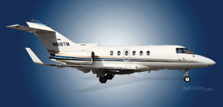 2000 Hawker 800XP, SN 258463,  N818TM - Ext RS View WEB.jpg