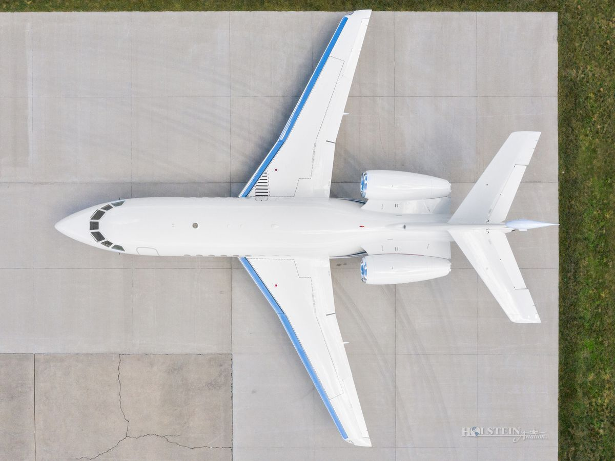 2007 Falcon 2000EX EASy II - SN 117 - N331HA - Ext - Overhead View RGB.jpg