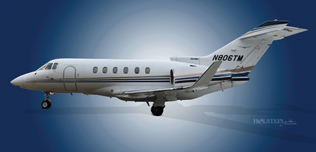 2000 Hawker 800XP, 258486, N806TM -  Ext LS View WEB.jpg